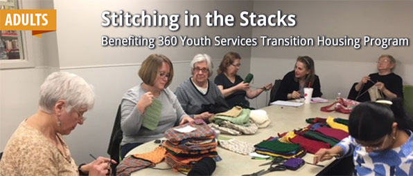 Stitching in the Stacks - Spring